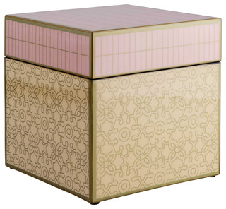 Unique Square Box by Piling Palang - Eclectic - Jewelry Boxes And Organizers - by Inglenuk Design
