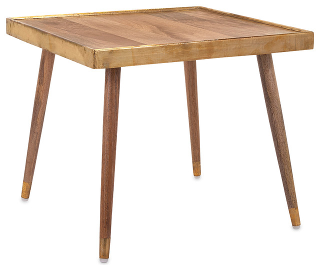dane side table rustic outdoor side tables by imax