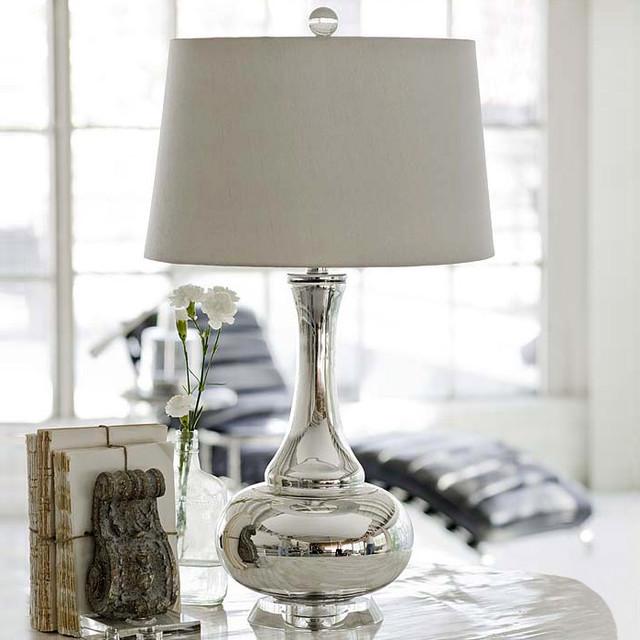 andrew mercury glass gourd lamp modern table lamps by zinc door