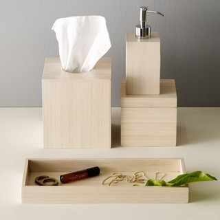 bamboo bath accessories modern bathroom accessories by west elm