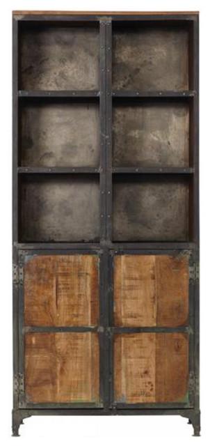Industrial Mango Wood Cabinet Industrial Storage