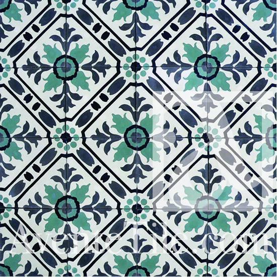 Traditional Toscana Handmade Cement Tile Mediterranean
