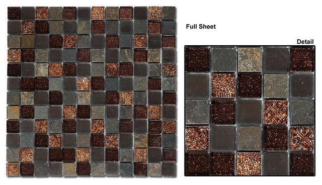 Mirage Opulence Glass Tile Collection Modern Home Decor