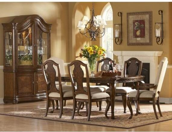 dining room set in distressed traditional dining tables salt