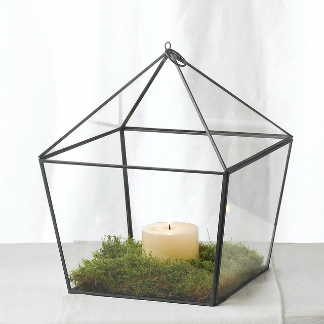 Fine lantern large the white company contemporary for Kitchen colors with white cabinets with hurricane candle holders uk