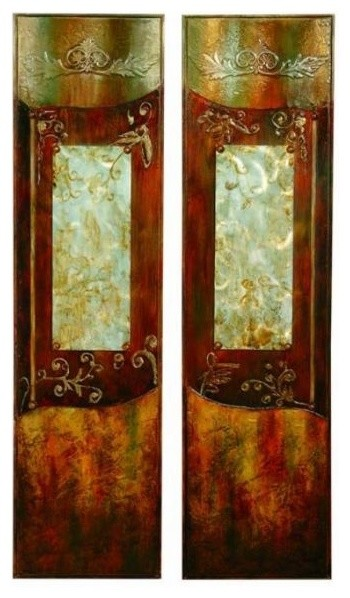 Set Of 2 Mystical Doors Wall Art Traditional Artwork