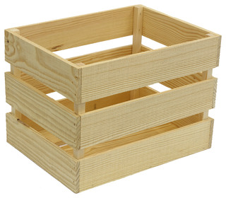 Heavy Duty Crate - Farmhouse - Storage Bins And Boxes - by Crates & Pallet