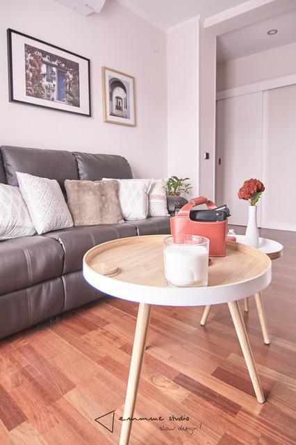 Amueblamiento y decoraci n en el piso de inma for Pisos living decoracion