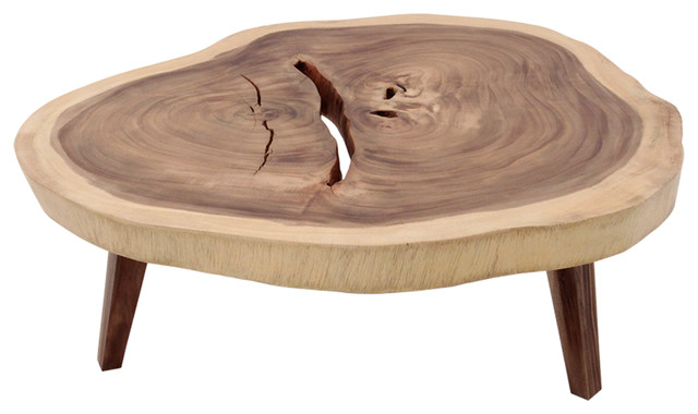 Table basse tronc contemporary coffee tables other for Other uses for a coffee table