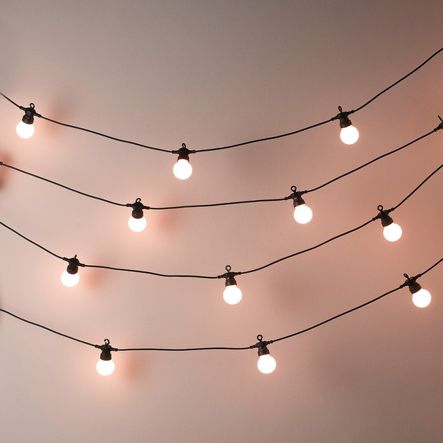 Bistro Bulb Fairy Lights 20 Bulbs Contemporary