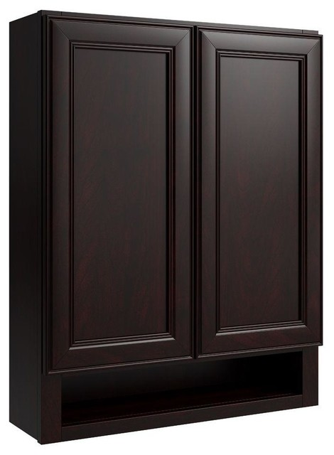 Cardell Cabinets Boden 24 in. W x 30 in. H Vanity Wall Boutique in ...