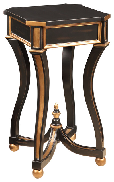 luxe square martini table traditional side tables and