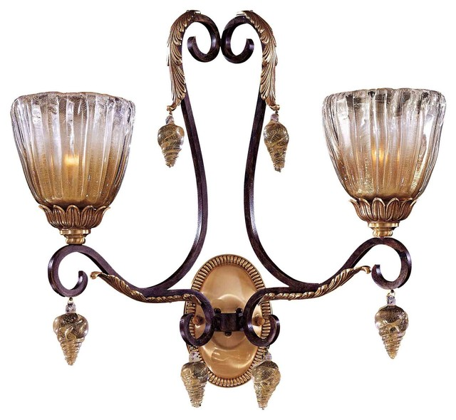 Metropolitan Vintage Bronze Wall Sconce - Traditional - Wall Sconces - by Littman Bros Lighting