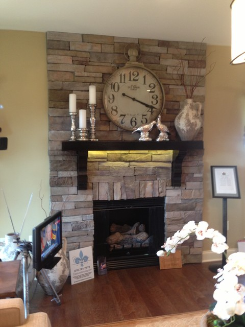 Brick and stone projects indoor fireplaces nashville for Building an indoor fireplace