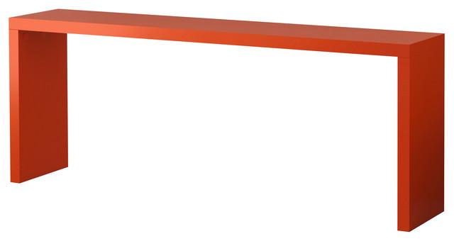 Malm occasional table orange table de bar et bistrot - Table de bar ikea ...