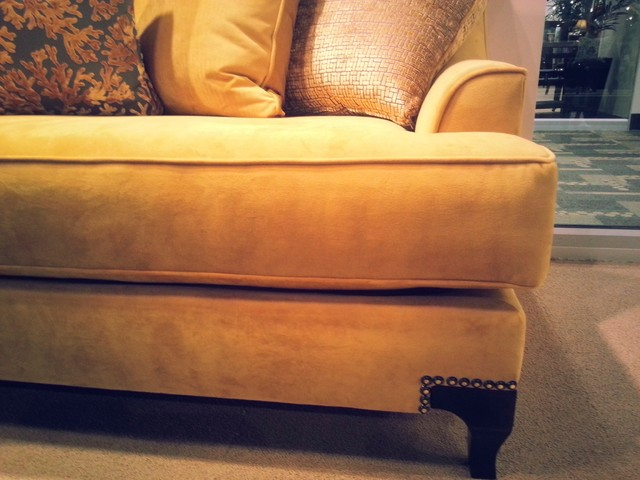 Modern and contemporary sofas and sofa with chaise lounges for Accents salon chagrin falls