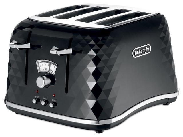 delonghi brillante toaster ctj4003 black moderne grille pain par amara. Black Bedroom Furniture Sets. Home Design Ideas
