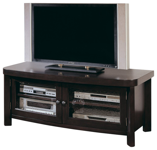 homelegance brussel 50 inch tv stand in espresso traditional entertainment centers and tv. Black Bedroom Furniture Sets. Home Design Ideas