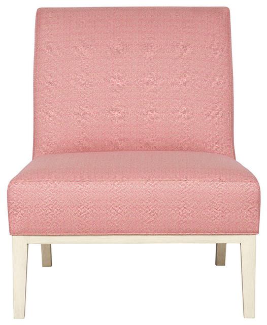 Pink Armless Chair Vanguard Furniture Dale Armless Chair V923 AC .