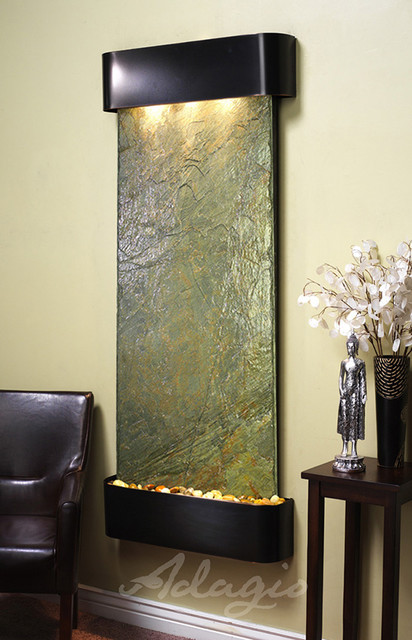 The inspiration falls wall water feature modern indoor - Modern indoor water feature ...