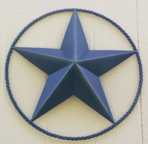 Texas Western Metal Barn Stars 24 Inch Heavy Duty With