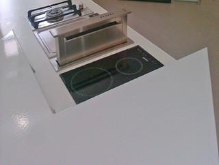 Enameled lava stone kitchen contemporaneo piani da for Piani artistici per artigiani con suite di artisti