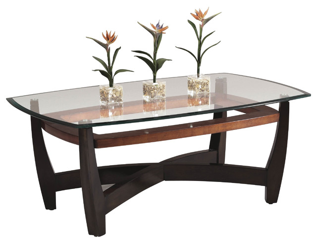Bassett Mirror Elation Rectangular Cocktail Table T1078 100 411ec Contemporary Coffee Tables