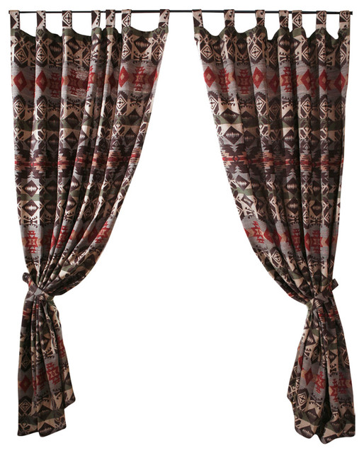 Montana Western Rustic Drapes Southwestern Curtains By Carstens
