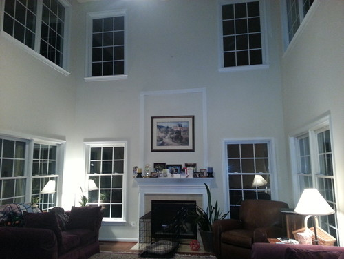 2 story great room decorating ideas for Great room design ideas
