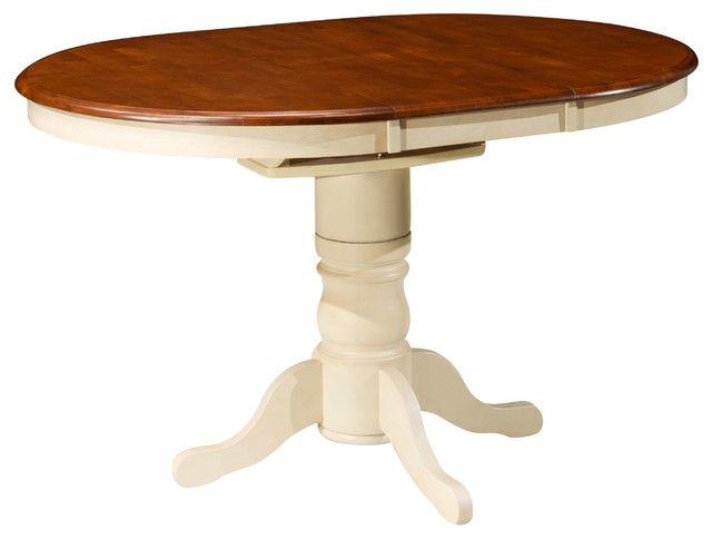 kenton ii adjustable height dining table w leaf