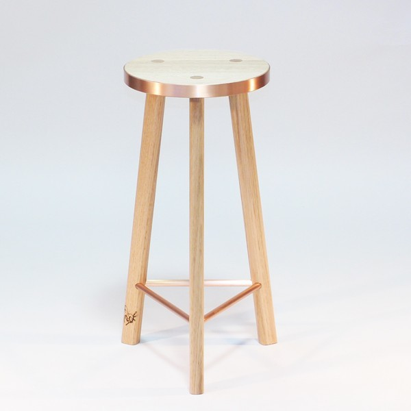 Kitchen Stools Melbourne: Copper Calypso Stool Tall