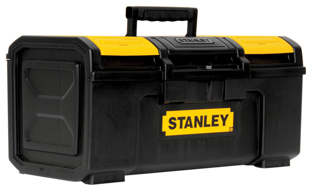 "Stanley Hand Tools 19"" Black and Yellow Auto Latch Tool ..."