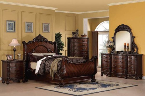 sleigh bed furniture 1