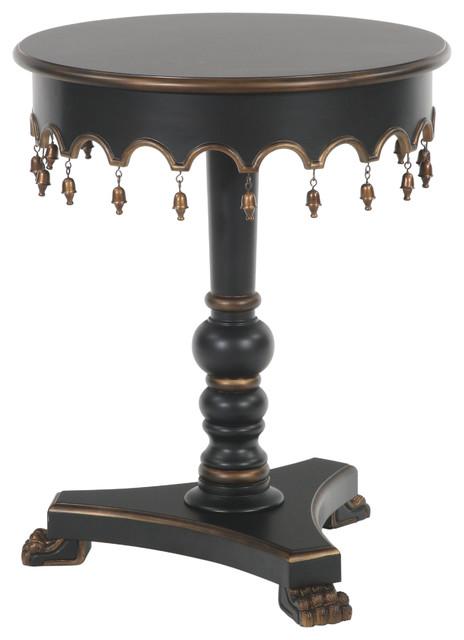 Dr Livingstone I Presume Furniture Lisbon Tasseled End Table - Mediterranean - Side Tables And End Tables ...