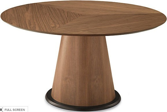 Palio Dining Table With Round Glass Top Modern Dining Tables By