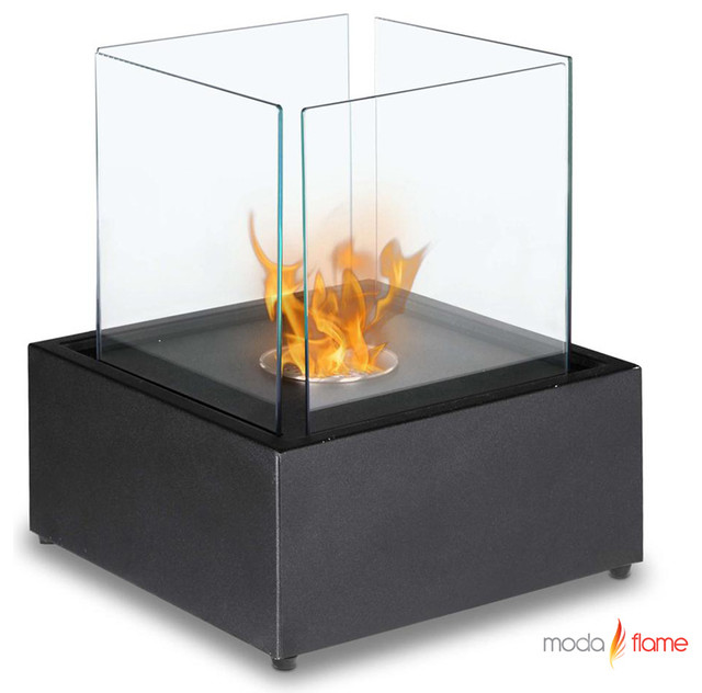 Moda Flame Sevilla Table Top Ethanol Fireplace Contemporary Tabletop Fireplaces New York
