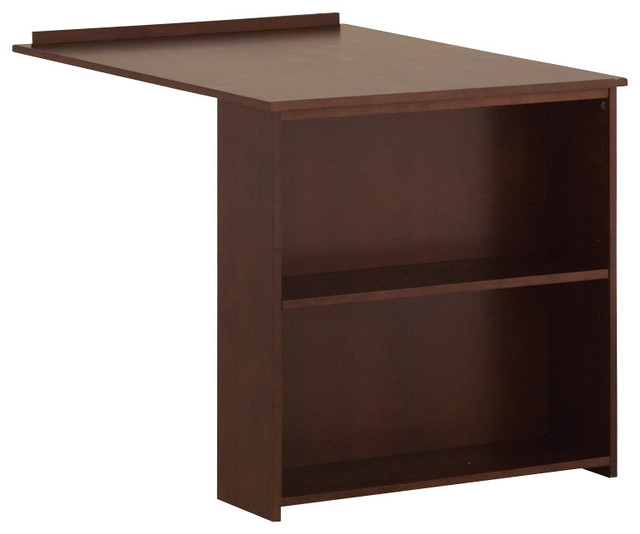 Canwood Whistler Slide Out Desk in Cherry - Transitional ...