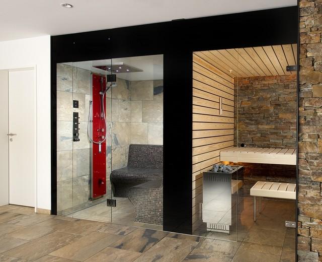 Kung saunas installs - Modern - Other - by Prestige Saunas Ltd