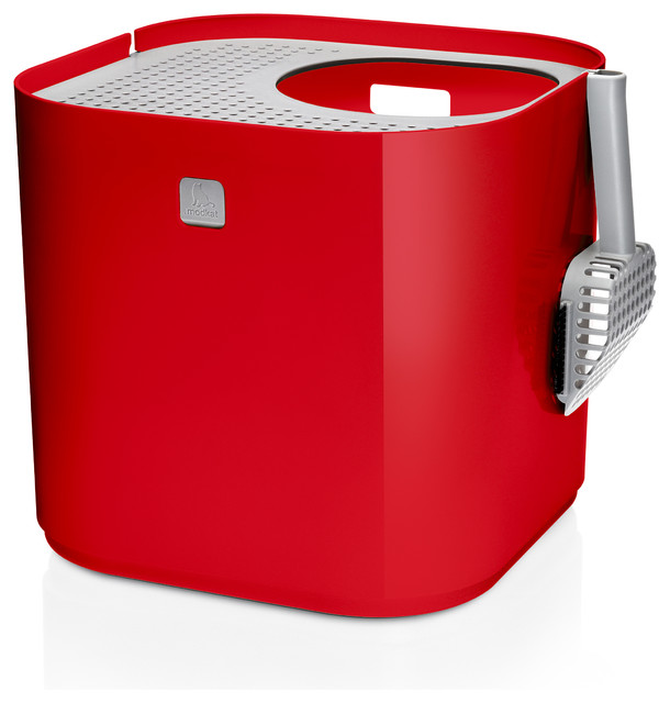 Modko litter box contemporary litter trays covers other metro by d c lifestyle - Modern kitty litter box ...