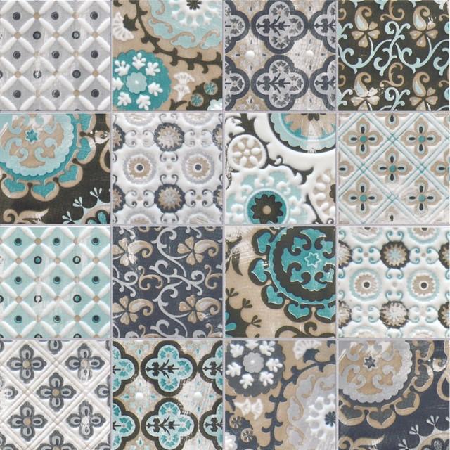 Encaustic tiles bathroom - Moroccan Inspired Tiles Modern Melbourne By Perini Tiles