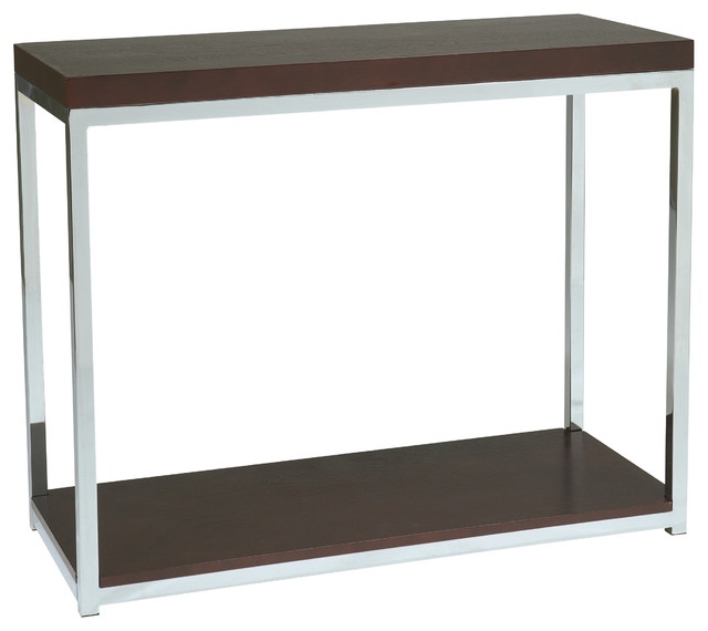 Foyer Office Uk : Office star avenue six wall street foyer table in chrome