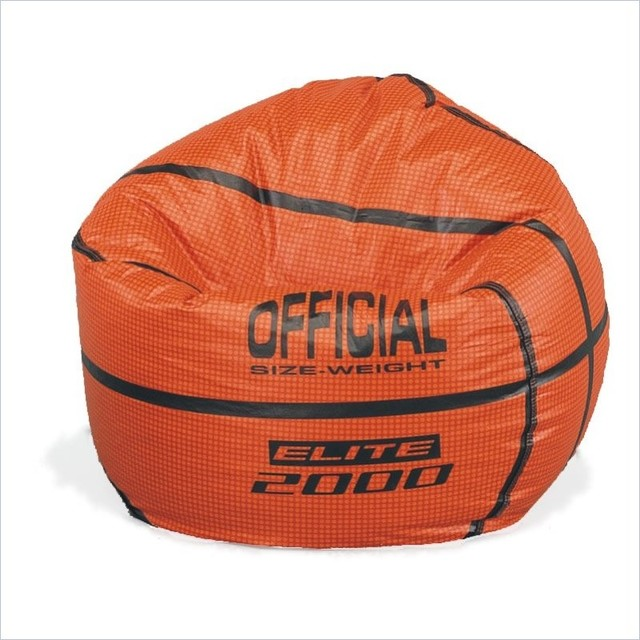 Sports Vinyl Basketball Bean Bag Contemporary Bean Bag Chairs Portland By Soothing Company