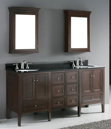Madeli bathroom vanity torino 72 contemporary bathroom for Bathroom vanities los angeles