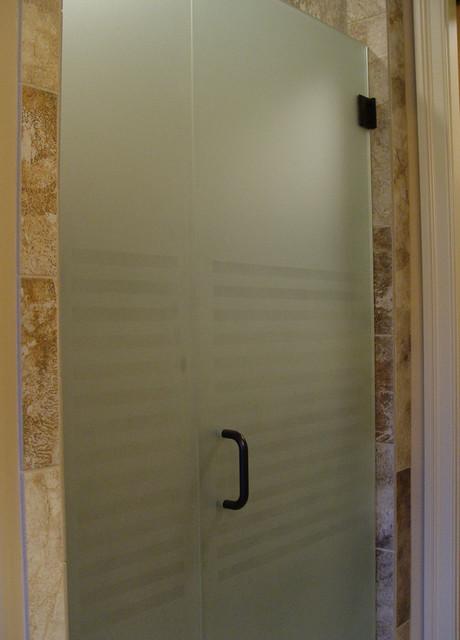 Etched Shower Door Samples Shower Doors Kansas City