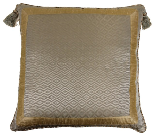 Austin Horn Classics Duchess Euro Solid Frame Pillow - Victorian - Decorative Pillows - by ...