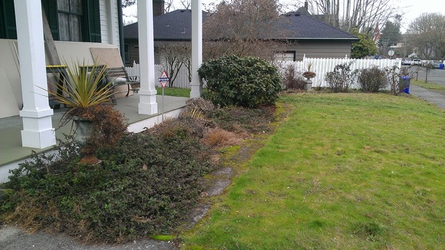 JARRETT FAMILY HISTORIC HOME BEFORE & AFTER - portland - by High Tech Turf & Trees