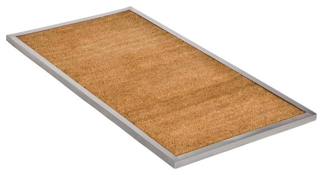 maude outdoor door mat medium modern doormats other metro by