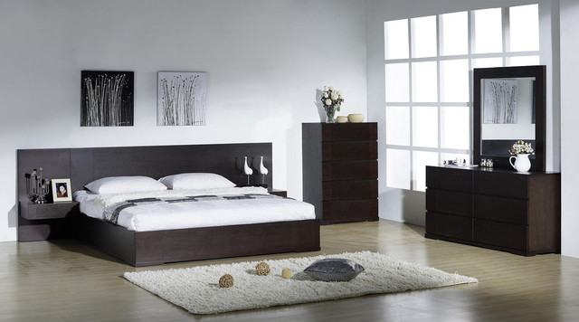 Elegant Quality Modern Bedroom Sets With Extra Storage Contemporary Bedro