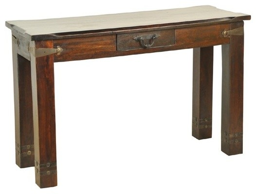 Moti Furniture Venice 1 Drawer Sofa Table 11005001 Traditional Side Tables And End