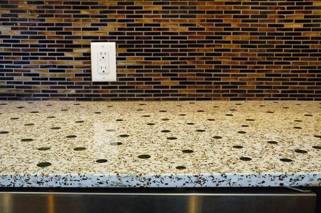 countertop and floor colors